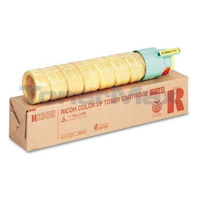 RICOH CL4000DN TYPE 145 TONER CART YELLOW 5K